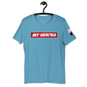 MY HEROES LOGO (RED)