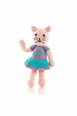 Girl Cat Rattle