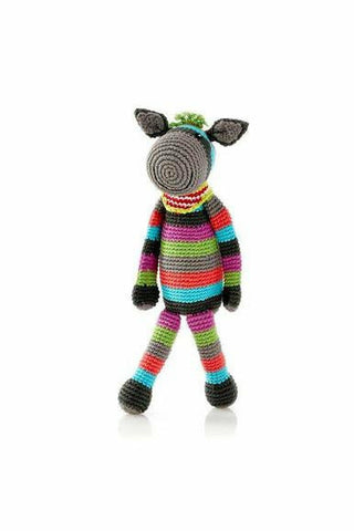Stripey Donkey Rattle