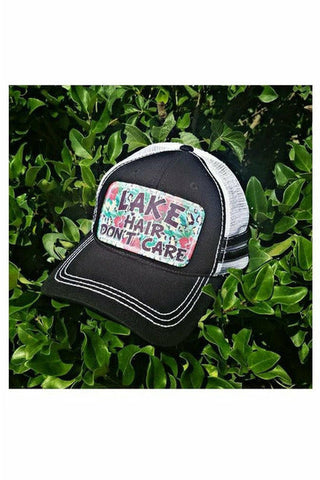 Lake Hair Don't Care Trucker Hat