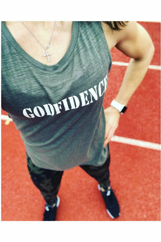GODFIDENCE Muscle Tank