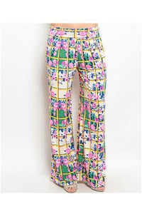 Spring On Me Floral Pants