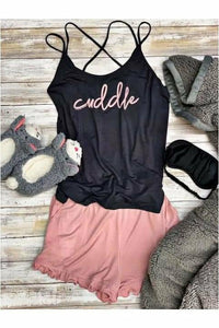 Cuddle Short Pajama Set