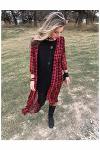 Mad For Plaid Duster