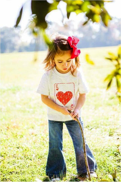 Kids Queen of Hearts Tee