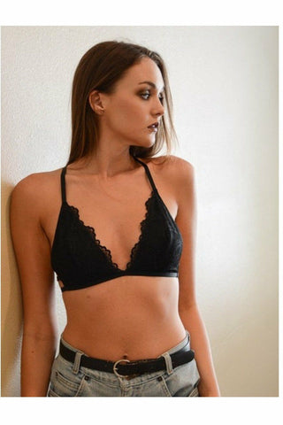 Juliet Black Bralette