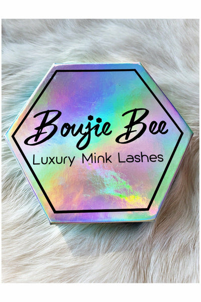 100% That Bish - Boujie Bee Luxury Mink Lashes