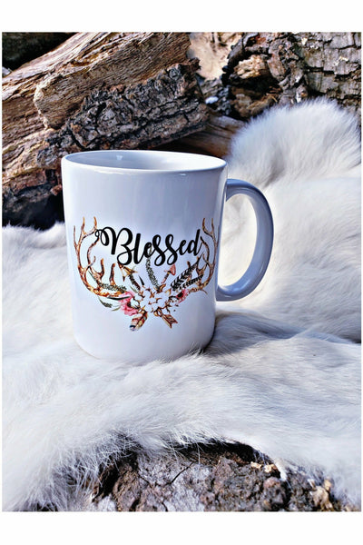Blessed Antlers & Arrows Mug