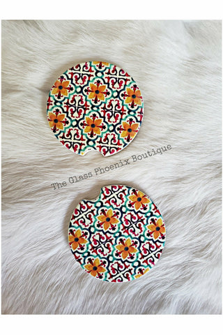 Morocco Car Coasters