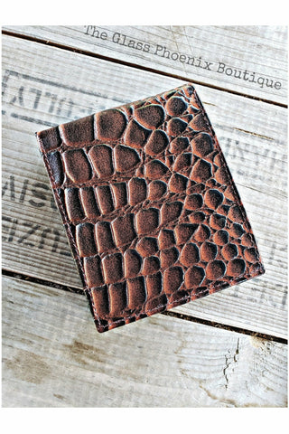 Leather Gator BiFold Wallet