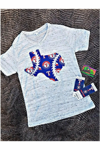 Texas Rangers V-neck