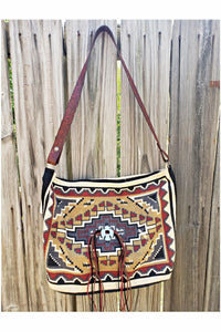 True Grit Purse with Red River Leather Shoulder Strap