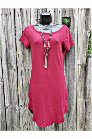 Rumba Red Tunic Dress
