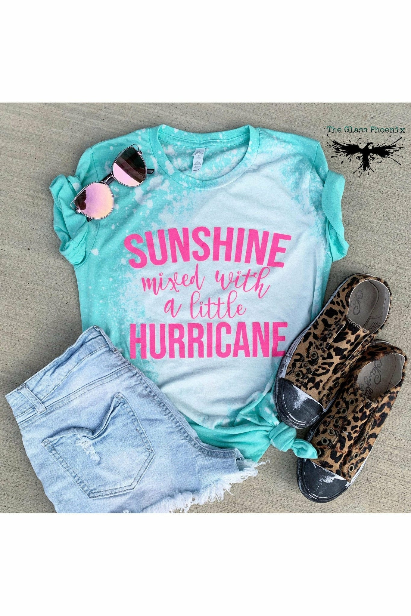 Sunshine Mixed with a Little Hurricane Tee