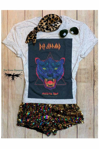 Def Leopard Hysteria Tee