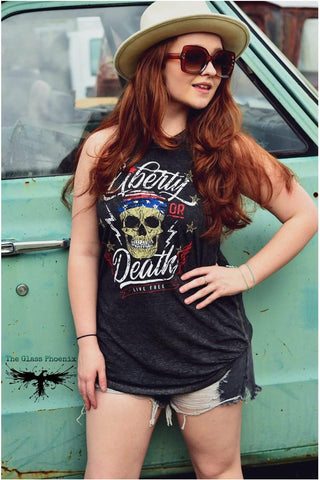 Liberty or Death - Live Free Tank