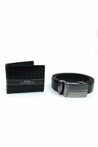 Auto Slide Belt & Wallet Set