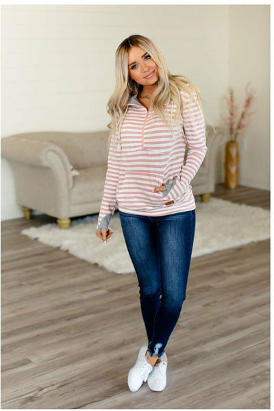 Candy Striper HalfZip