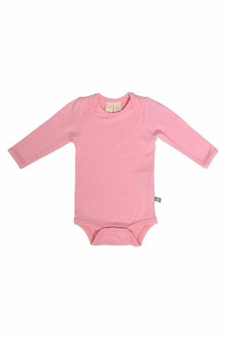 Kyte Baby Long Sleeve Bodysuit in Petal