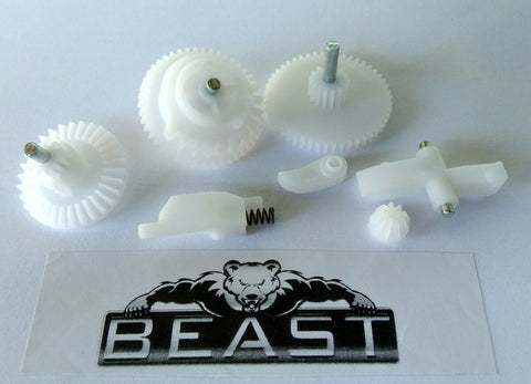 BeastPro Upgrade: Full 7 Piece FORMALDEHYDE Hard Gear Set  GEL GUN BLASTER MKM2 M4 SCAR HK etc - BeastPro Store