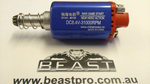 CHIHAI WAR GAME 480 LONG MOTOR 41,000rpm @ 11.1v FIT LOTS : BEAST UPGRADE