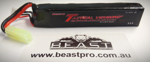 TACTICAL HIGH END TRUE 1200mAH 11.1v LIPO BATTERY FIT M4A1 GEN 8,9,10 SCAR v1,v2 + MORE 4 GEL BLASTER GUN