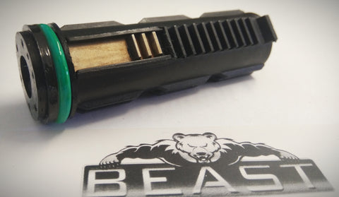 NYLON PISTON + 8 HOLE HEAD + RAIL + GREEN ORING M4A4 , GEN8,9, ACR10: BEASTPRO UPGRADE
