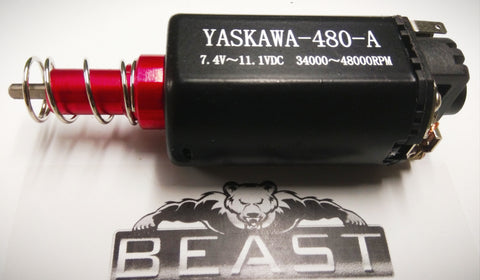 YASKAWA NCE 480 LONG MOTOR 48,000rpm @ 11.1v FIT LOTS : BEAST UPGRADE