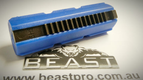 SHS FULL METAL RAIL PISTON 14T TOP QUILITY NICE AND LOOSE M4A1 , GEN8,9, ACR10, V2 GEARBOX'S ETC: BEASTPRO UPGRADE