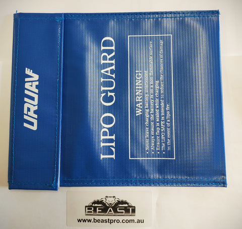 BIGGER LIPO BATTERY GLASS FIBER PROTECTION BAG 22x18cm : BEASTPRO GEL BALL GUN BLASTER