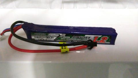 BeastPro Upgrade: Crazy Off Tap 11.1v lipo Battery 50c Discharge M4A1 MKM2 G36 SCAR etc - BeastPro Store