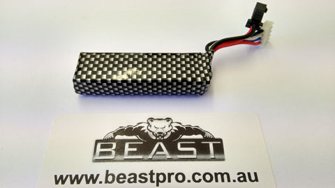 BeastPro Upgrade: 11.1v lipo battery VECTOR STD6 M4A1 MKM2 G36 SCAR V1 V2 etc