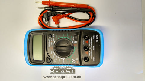 DIGITAL MULTIMETER - ESSENTIAL TOOL: BEASTORO