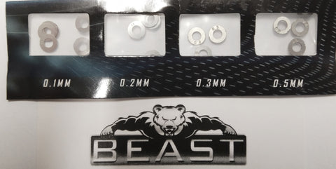 M4A1 G36 SCAR V2 SHIM KIT FOR METAL GEARS :: BEASTPRO UPGRADE