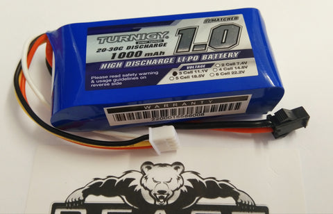 SCARv2 / SCARv1 100% TRUE POWER mAh 11.1v volt Lipo Battery SM PLUG GEL GUN BLASTER