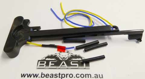 M4A1 CHARGE HANDLE WITH MAG PRIME : Beaspro Upgrade Gel Blaster