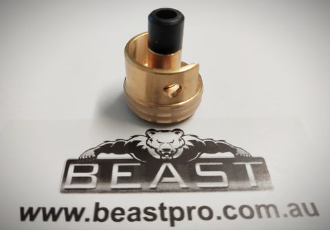 BRASS DOUBLE ORING CYLINDER HEAD LDT War Interest (v2) , V2.0 Gearbox + BRASS NOZZLE : BEASTPRO UPGRADE