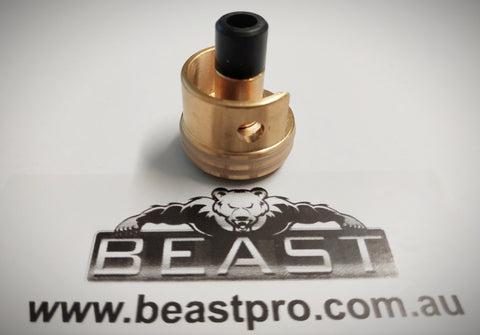BRASS DOUBLE ORING CYLINDER HEAD LDT War Interest (v3&2.5) , V2.0 Gearbox's + BRASS NOZZLE : BEASTPRO UPGRADE