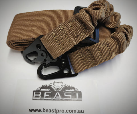 Adjustable Tactical Two Point Blaster Sling (SANDY) : BEASTPRO