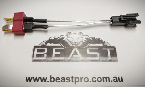 STANDARD BLASTER MALE SM CONNECTOR TO DEANS CONNECTOR ADAPTOR : BEASTPRO