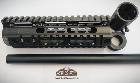 "ALLOY FISHBONE KIT #NOVESKE ( 7""/178mm) SUPER HQ  FOR M4A1 GEN8 : GEL BALL GUN BLASTER : BEASTPRO"