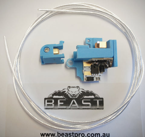 T238 Mosfet Electronic Active Braking Module + silver wiring for JM Gen.9, XWE, M4, FB, Kublai, JQ, V2 Gearbox