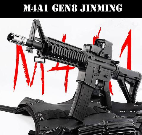 UPGRADED M4A1 GEN8 TOY BLASTER + XM316 RECIEVER + ALL STAGE 2 UPGRADES (INSTALLED) + 11.1V + CHARGER + MORE : BEAST