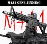 UPGRADED M4A1 GEN8 TOY BLASTER + STAGE 3.5 NYLON GEARBOX (INSTALLED) + XM316 RECEIVER + 11.1V + CHARGER + CASE + METAL SCOPE : BEAST