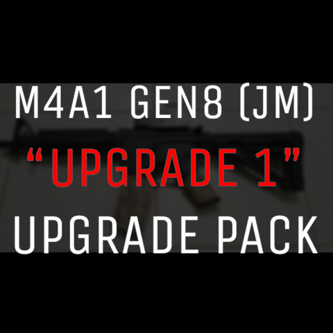 BeastPro UPGRADE:  M4A1 GEN8 Upgrade Pack (No:1) Gel Ball Gun. Barrel, T-Piece, Spring, Hopup 11.1v Battery Opt - BeastPro Store