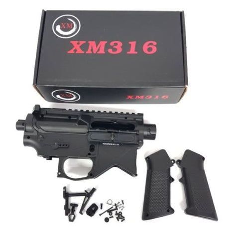 BEAST: PRO XM316 M4A1 GEN8 SPLIT RECEIVER UPGRADE PLUS EXTRAS GEL BALL GUN - BeastPro Store