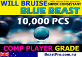 BeastPro 10,000 7-8mm GEL balls HIGH GRADE HARDENED BLUE GEL GUN AMMO - BeastPro Store