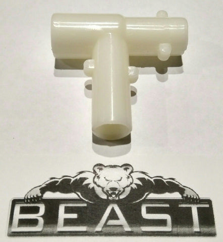 BeastPro Upgrade: THICK T-Piece For ALLOY Barrel GEL GUN BLASTER mkm2 m4 SCAR JinMing etc - BeastPro Store