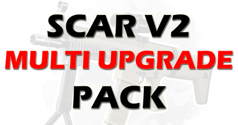 SCAR V2 MULTI UPGRADE PACK 'UPGRADE 1' + 'HULK UPGRADE' + BEARINGS + SHIM KIT