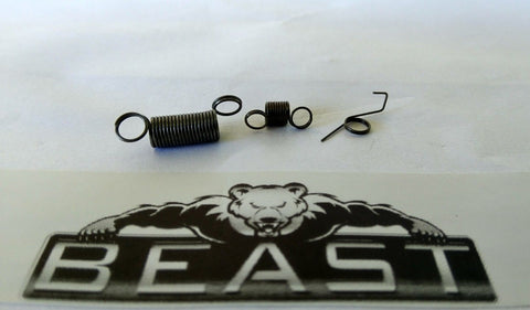 BeastPro Upgrade: Replacement Spring Kit GEL GUN BLASTER mkm2 m4 SCAR HK AK47 etc - BeastPro Store